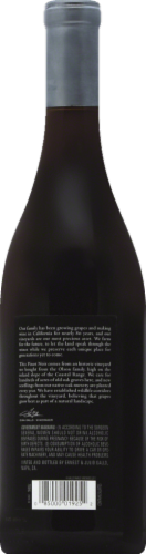 Gallo Family Vineyards Signature Series Pinot Noir Red Wine Perspective: back