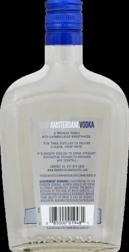 New Amsterdam Vodka Perspective: back