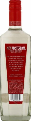 New Amsterdam Red Berry Vodka Perspective: back