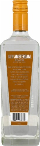 New Amsterdam Peach Flavored Vodka Perspective: back