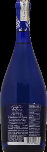 Mia Dolcea Moscato D'Asti Sparkling Wine Perspective: back