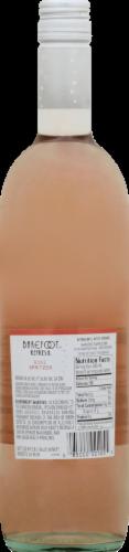 Barefoot Spritzer Rose Wine Perspective: back