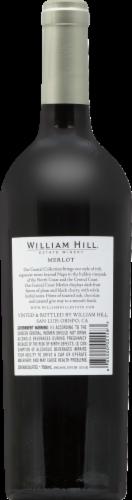 William Hill Estate Merlot Central Coast Merlot Red Wine Perspective: back