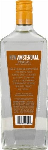 New Amsterdam Peach Flavored Vodka 1.75L Perspective: back