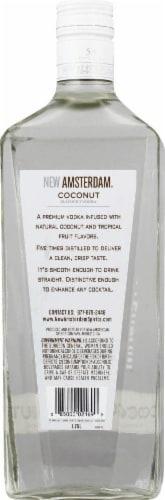 New Amsterdam Coconut Vodka Perspective: back