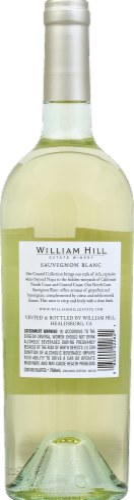 William Hill Estate North Coast Sauvignon Blanc White Wine 750ml Perspective: back