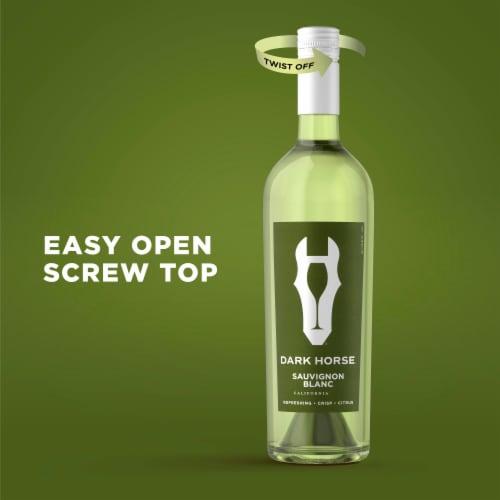 Dark Horse Sauvignon Blanc White Wine Perspective: back
