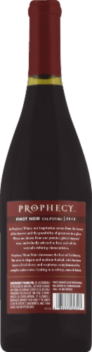 Prophecy Pinot Noir Red Wine Perspective: back