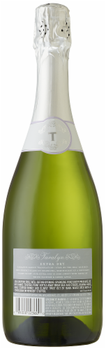 Taralyn Extra Dry Sparkling Wine 750ml Perspective: back