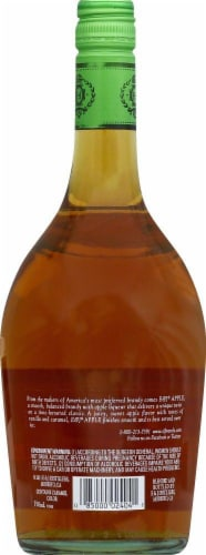 E&J Flavored Apple Brandy Perspective: back