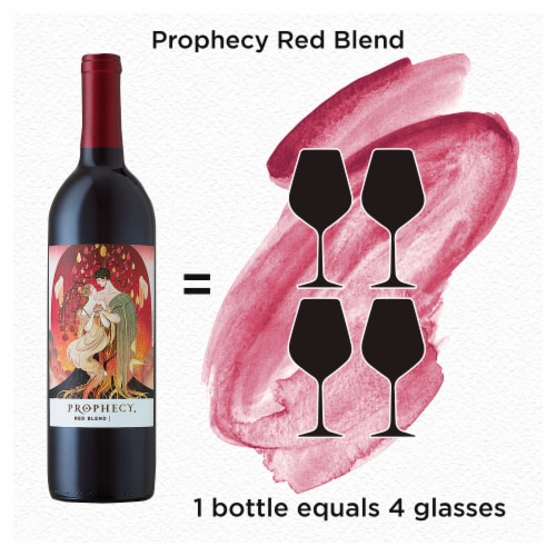Prophecy Red Blend Red Wine Perspective: back
