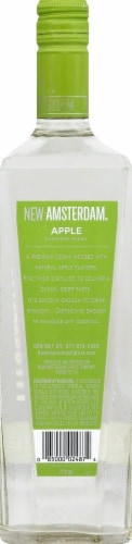 New Amsterdam Apple Flavored Vodka Perspective: back