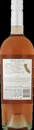 Edna Valley Vineyard Rose Wine Perspective: back