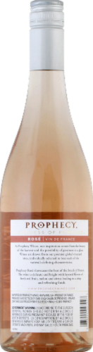 Prophecy French Rose Wine Perspective: back