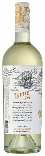 Leftie White Blend Wine 750ml Perspective: back