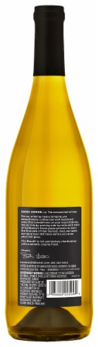 Dark Horse Buttery Chardonnay White Wine Perspective: back
