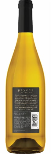 Psyche Chardonnay White Wine Perspective: back