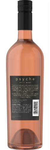 Psyche Rose Blush Wine Perspective: back
