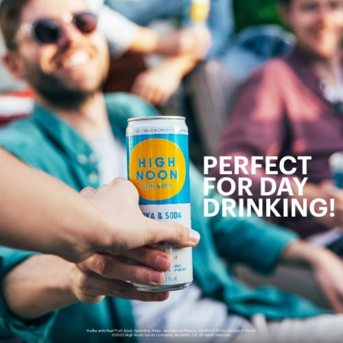 High Noon Sun Sips Tropical Variety Pack Hard Seltzer Perspective: back