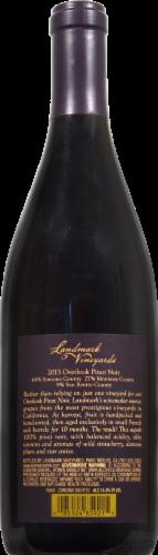 Landmark Overlook Pinot Noir Perspective: back