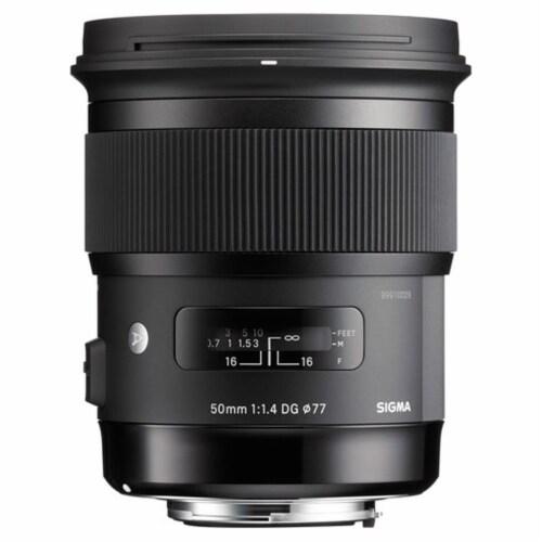 Sigma 50mm F/1.4 Dg Hsm Art Lens For Canon Ef Perspective: back