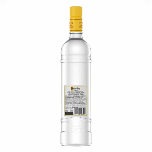 Ketel One Citroen Vodka Perspective: back