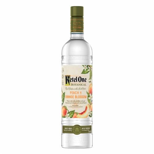 Ketel One Botanical Peach & Orange Blossom Vodka Perspective: back