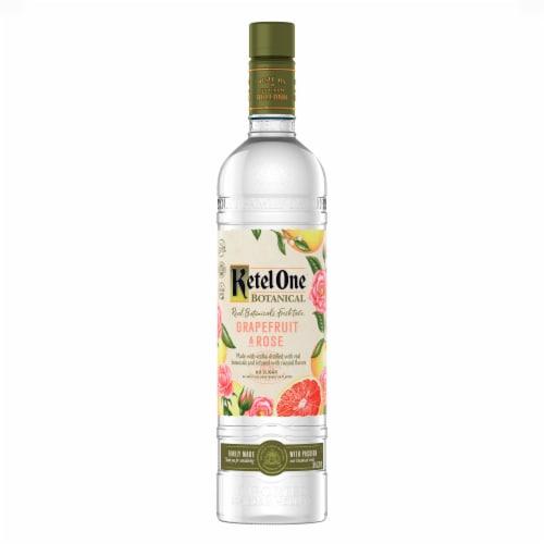 Ketel One Botanical Grapefruit & Rose Vodka Perspective: back