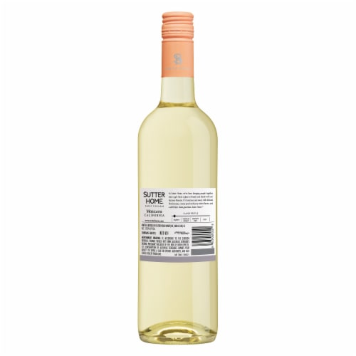 Sutter Home Moscato White Wine Perspective: back