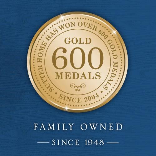 Sutter Home® Merlot Red Wine 750mL Wine Bottle Perspective: back