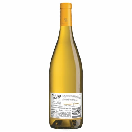 Sutter Home Chardonnay White Wine Perspective: back