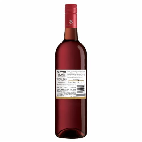 Sutter Home® Sweet Red Wine Perspective: back