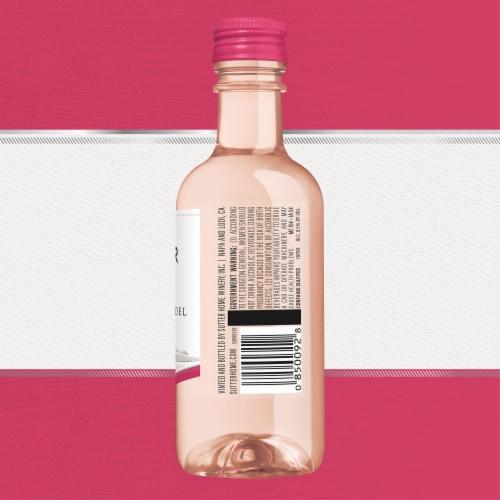Sutter Home® White Zinfandel Rose Wine Perspective: back