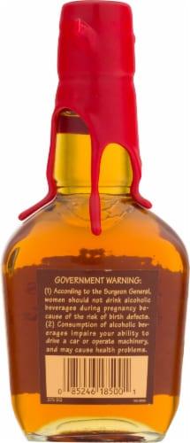 Maker's Mark Kentucky Straight Bourbon Whisky Perspective: back