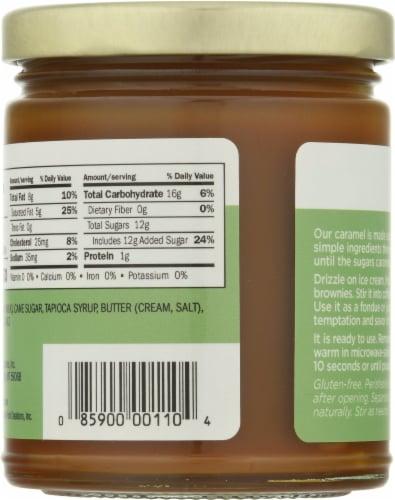 King's Cupboard Cream Caramel Sauce Perspective: back