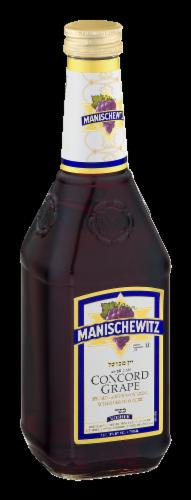 Manischewitz Concord Grape Red Wine Perspective: back