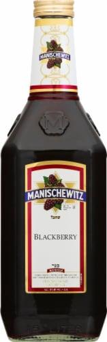 Manischewitz Blackberry Fruit Wine Perspective: back