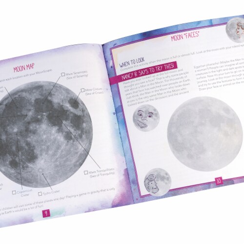 Educational Insights Nancy B's Science Club MoonScope and Sky Gazer's Activity Journal Perspective: back
