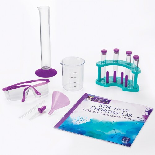 Educational Insights Nancy B's Science Club Stir-It-Up Chemistry Lab and Kitchen Experiments Journal Perspective: back
