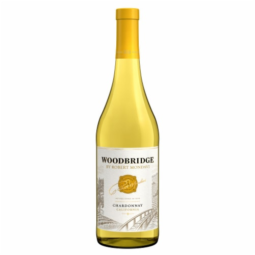 Woodbridge By Robert Mondavi Chardonnay White Wine Perspective: back