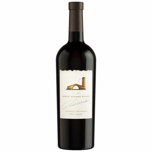 Robert Mondavi Winery Napa Cabernet Sauvignon Red Wine Perspective: back
