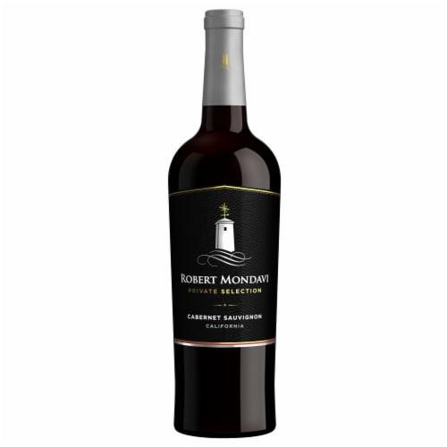 Robert Mondavi Private Selection Cabernet Sauvignon Red Wine Perspective: back