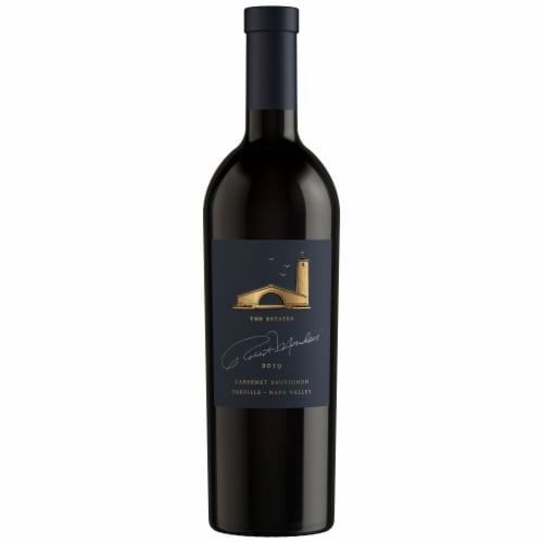 Robert Mondavi Winery Oakville Cabernet Sauvignon Red Wine Perspective: back