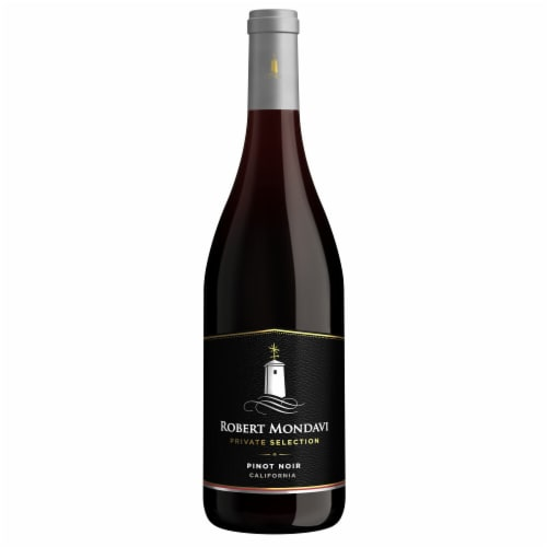 Robert Mondavi Private Selection Pinot Noir Red Wine Perspective: back