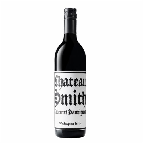 Charles Smith Wines Chateau Smith Cabernet Sauvignon Red Wine Perspective: back