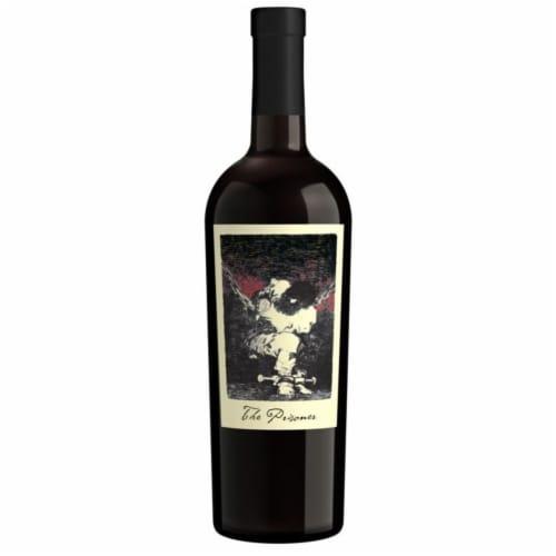 The Prisoner Wine Co. Red Blend Perspective: back