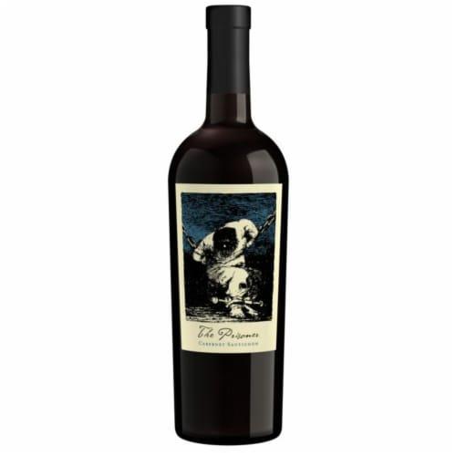 The Prisoner Wine Co. Cabernet Sauvignon Red Wine Perspective: back