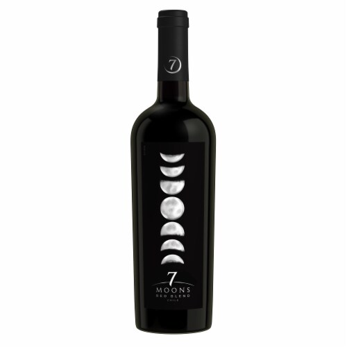7 Moons Red Blend Red Wine Perspective: back