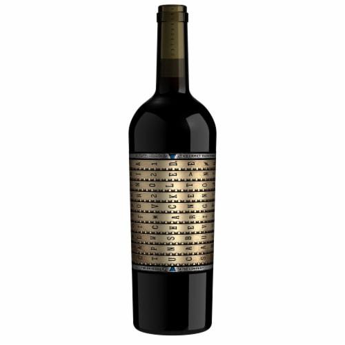 The Prisoner Wine Company Unshackled Cabernet Sauvignon Red Wine Perspective: back