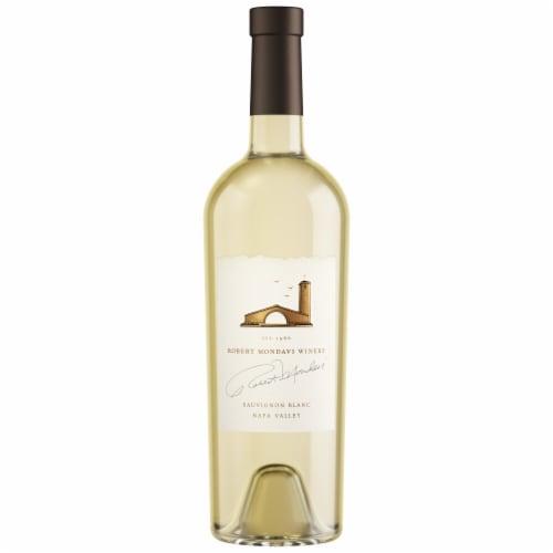 Robert Mondavi Winery Napa Valley Fume Blanc White Wine Perspective: back